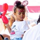Kim Kardashian's photo of her and Kanye West's daughter North