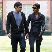 Look Of Love?: Halle Berry And Olivier Martinez Were Seem Walking In