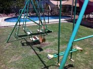 Playground swing set Perth Region Preview