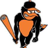 Baltimore Orioles Bird Logo Window Wall Sticker Vinyl Car Decal Any