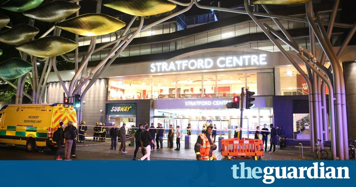 Teenager arrested after six injured in 'noxious substance attack' in London - The Guardian