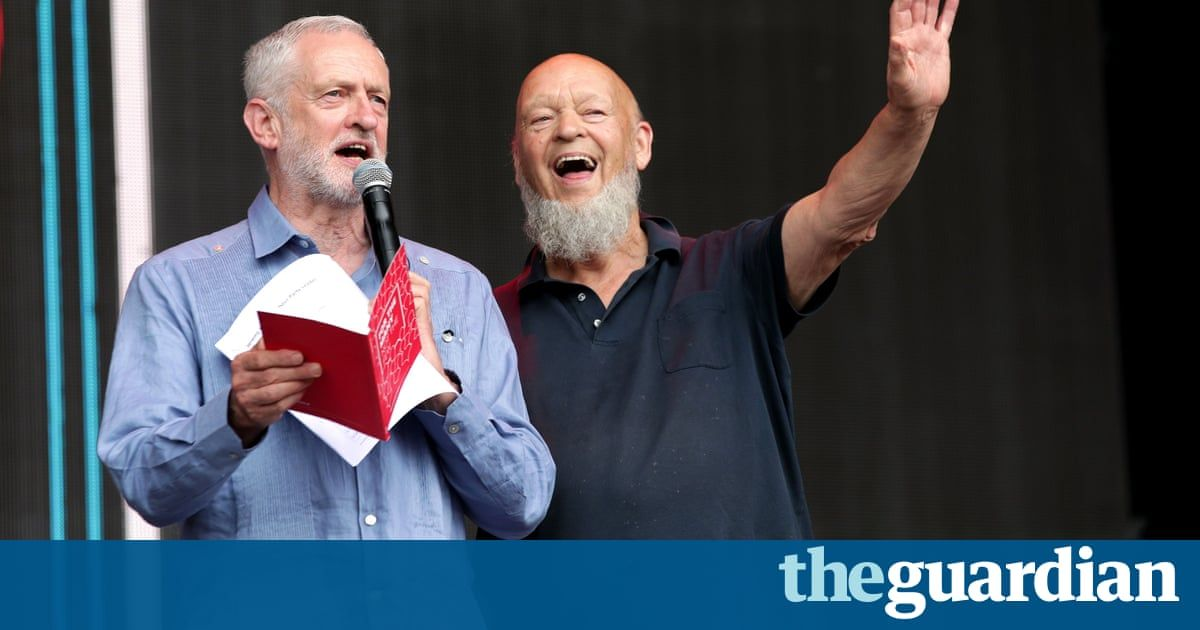 Glastonbury 2017: Jeremy Corbyn says 'another world is possible' – live updates - The Guardian