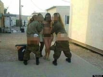 SemiNude Female Israeli Soldiers Filmed PoleDancing Around A Rifle