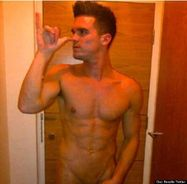 Geordie Shore's Gaz Beadle Naked In Explicit Leaked Pictures Showing