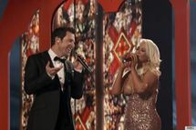 Christina Aguilera Nip Slip Comes Sooo Close On 'The Voice' (VIDEO