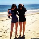 Kendall And Kylie Jenner Wetsuits: Jenner Sisters' Day At The Beach