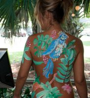 Body Paint Nude Man