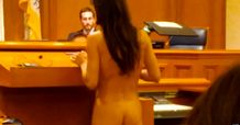 Gypsy Taub, Nudity Activist, Gets Naked At Board Of Supervisors