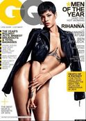 rihanna naked gq cover