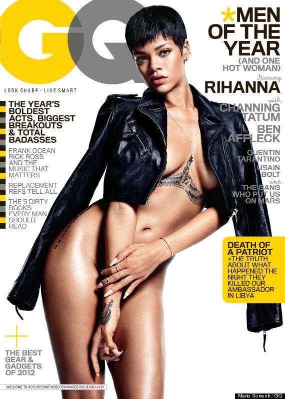 Rihanna Nude For Lui Magazine