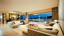 Penthouse overlooking Hong Kong