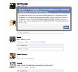 Banned from Facebook For Liking Things [PIC] | Give Up Internet!