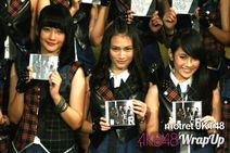 jkt48 launches their first cd single river in jkt48 theater on friday