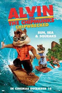 Alvin and the Chipmunks 3: Chipwrecked (2011) DVDRip 350MB