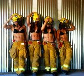 The Women From The Tuscan Firefighters 2013 Calendar Photoshoot | The