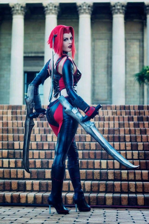 [Sexy Cosplay] BloodRayne by Cywiel Cosplay