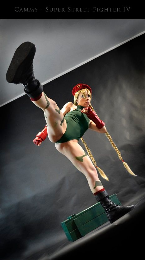 [Sexy Cosplay] Cammy Cosplay from Super Street Fighter IV