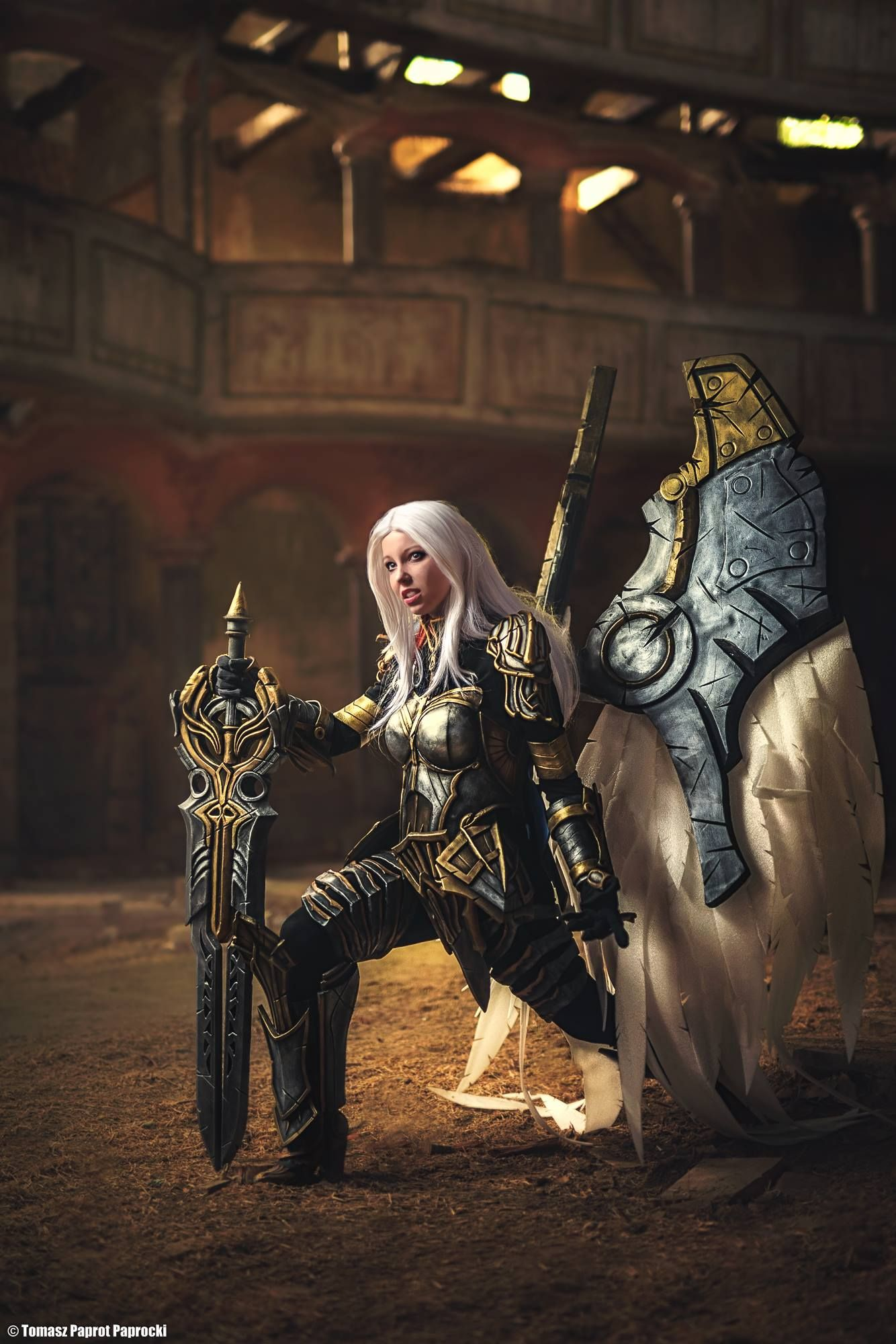 [Sexy Cosplay] Darksiders – Uriel by Ketrin
