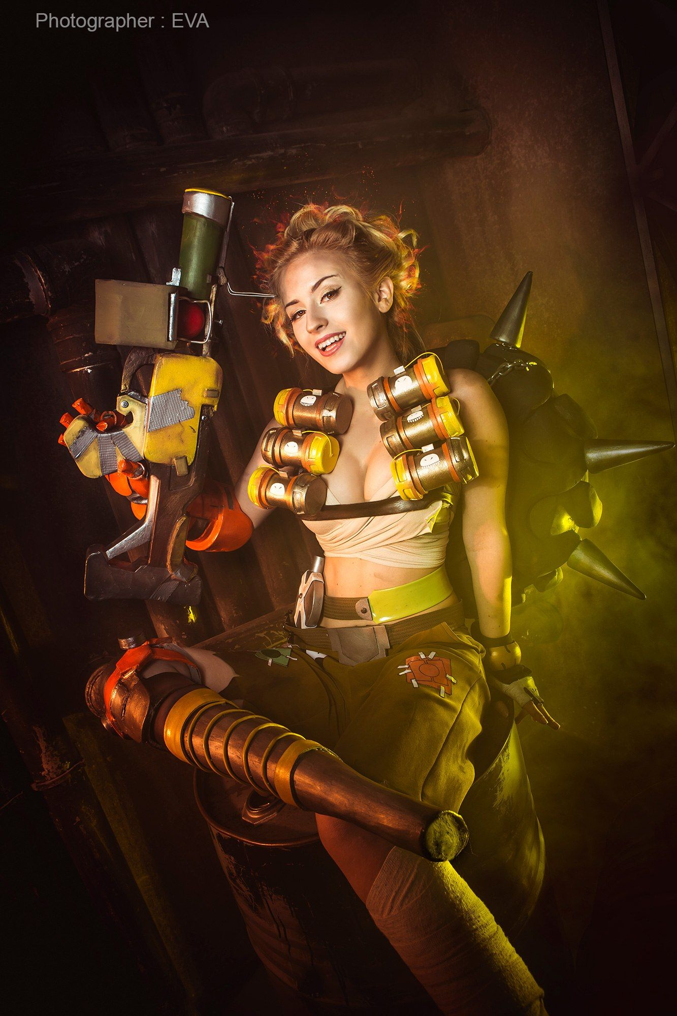[Sexy Cosplay] Overwatch – Junkrat by Angelica (Jokerlolibel)