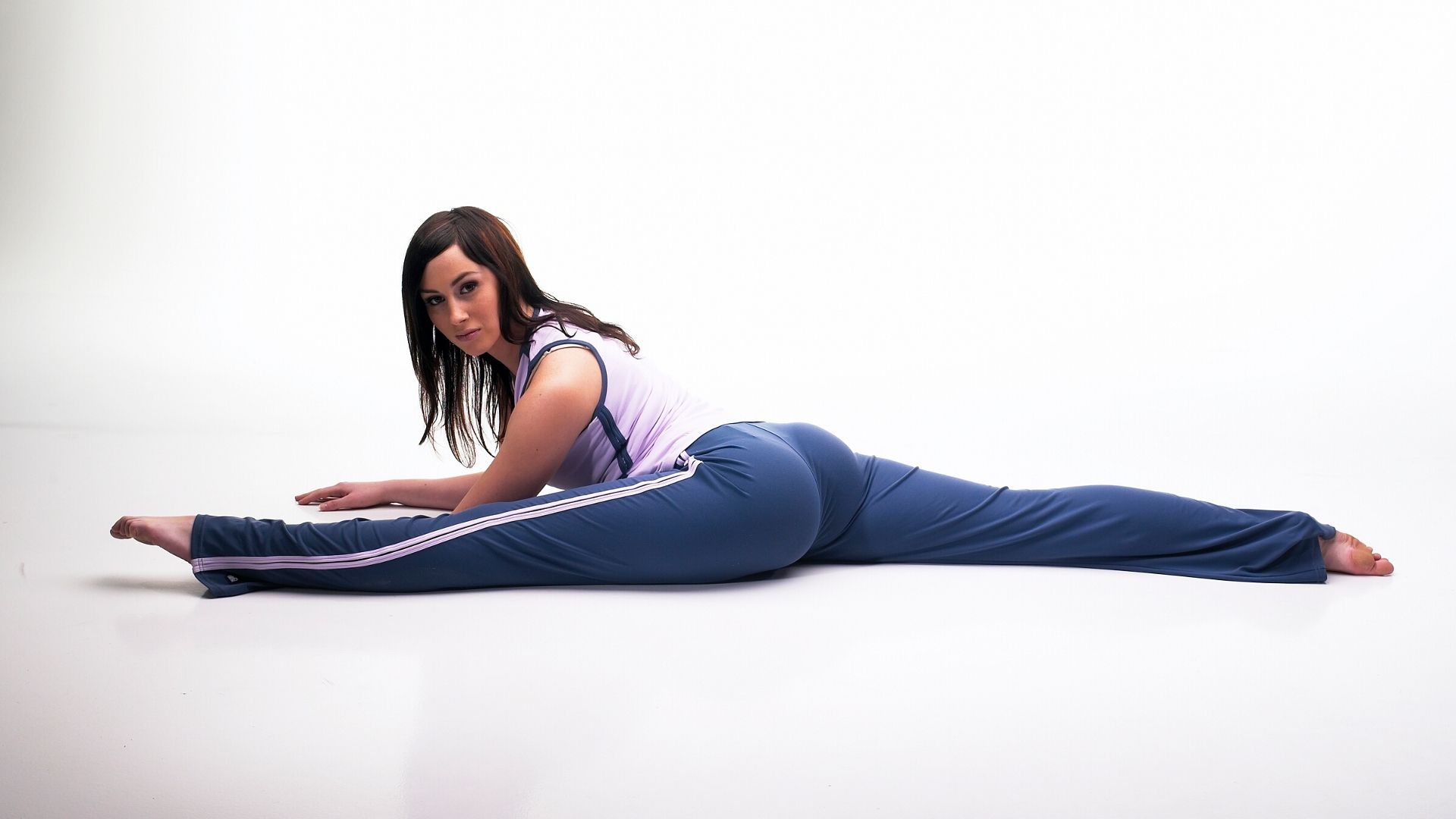[Yoga Pants] Splitting the fabric