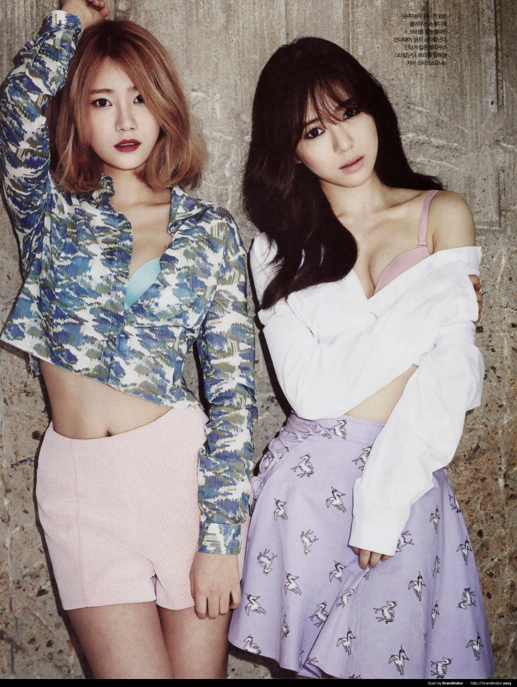 Esquire Photoshoot featuring AOA!
