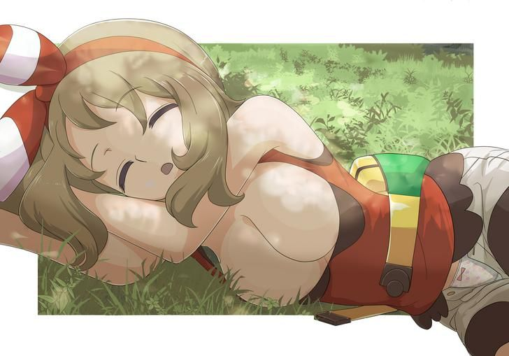 [Pokemon Hentai] [Trainer] Innocent May takes a nap!