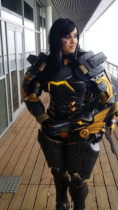 [Sexy Cosplay] Anubis Pharah cosplay by Germia (Overwatch)