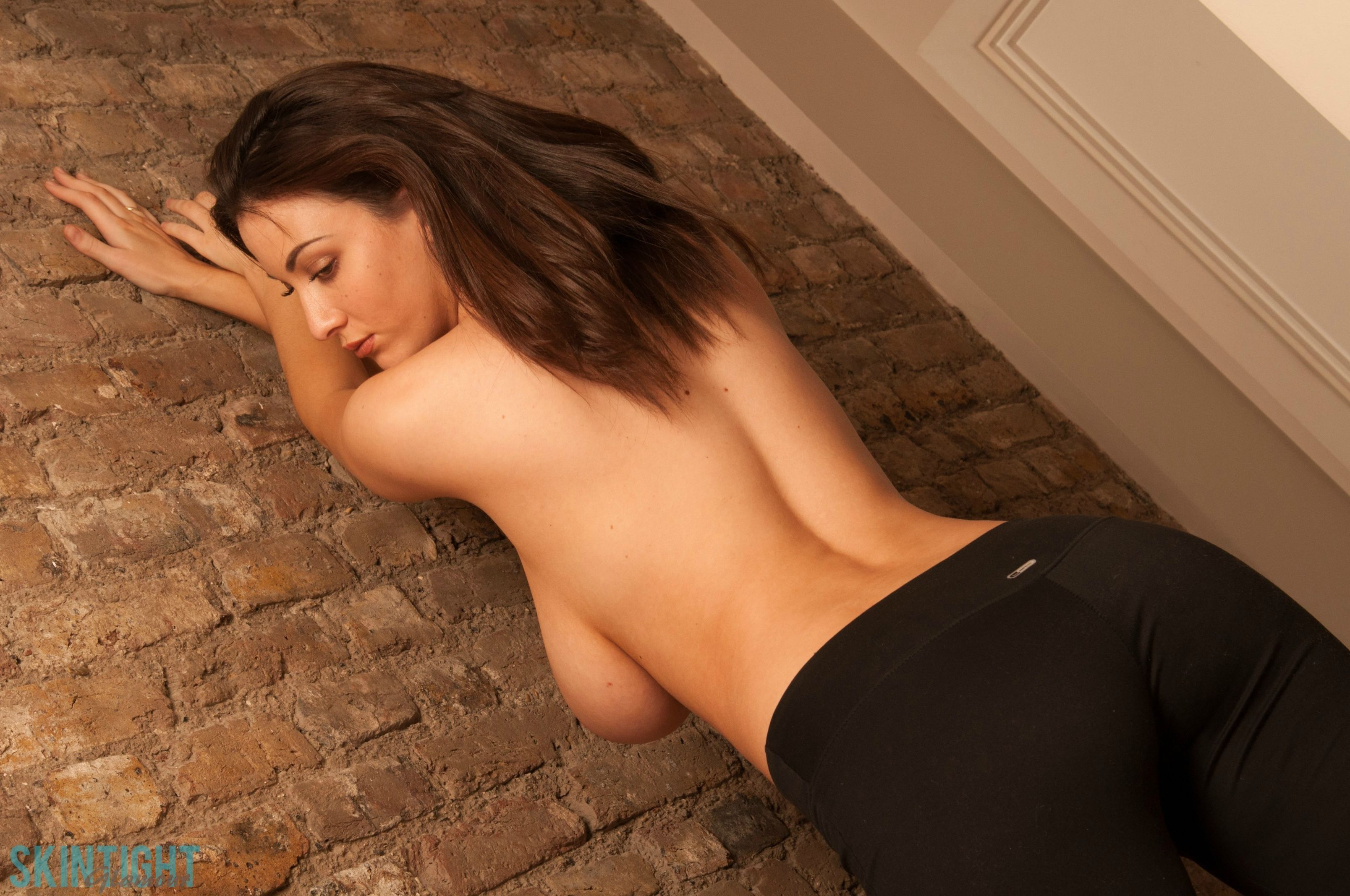 Joey Fisher seen from behind