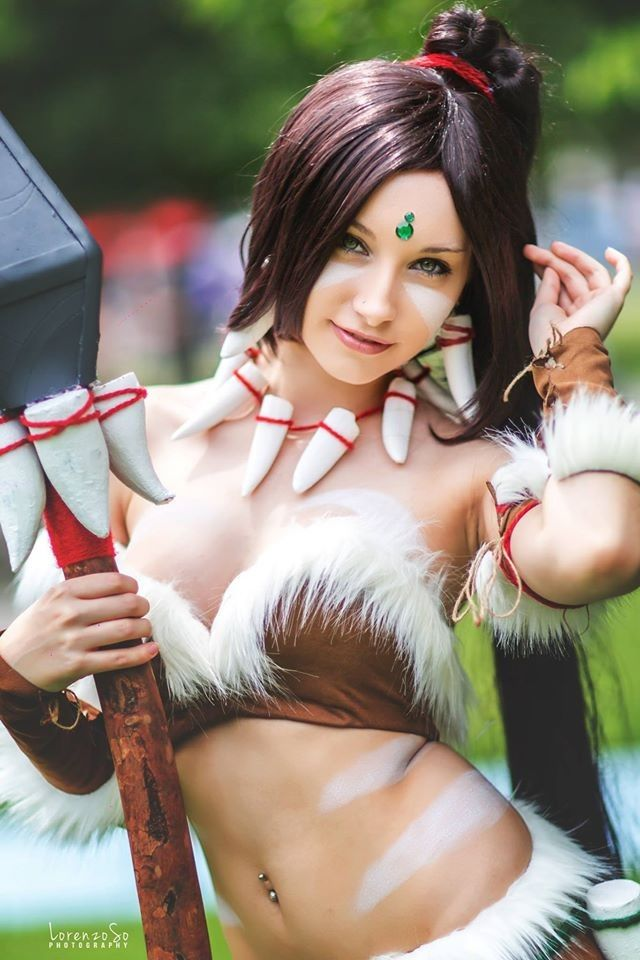 [Sexy Cosplay] Nidalee (League of Legends) by Beke