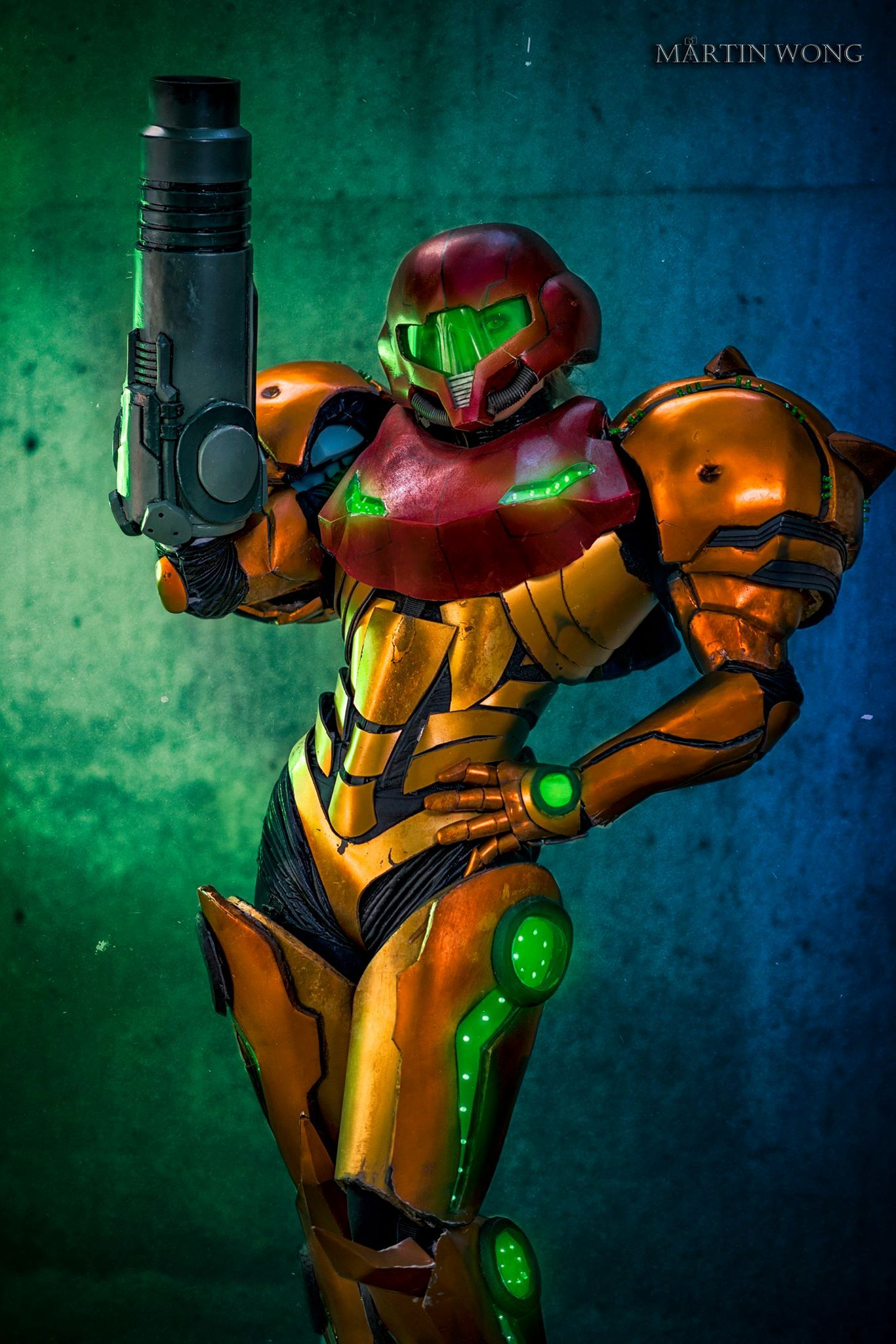 [Sexy Cosplay] Samus from the other day in full armour
