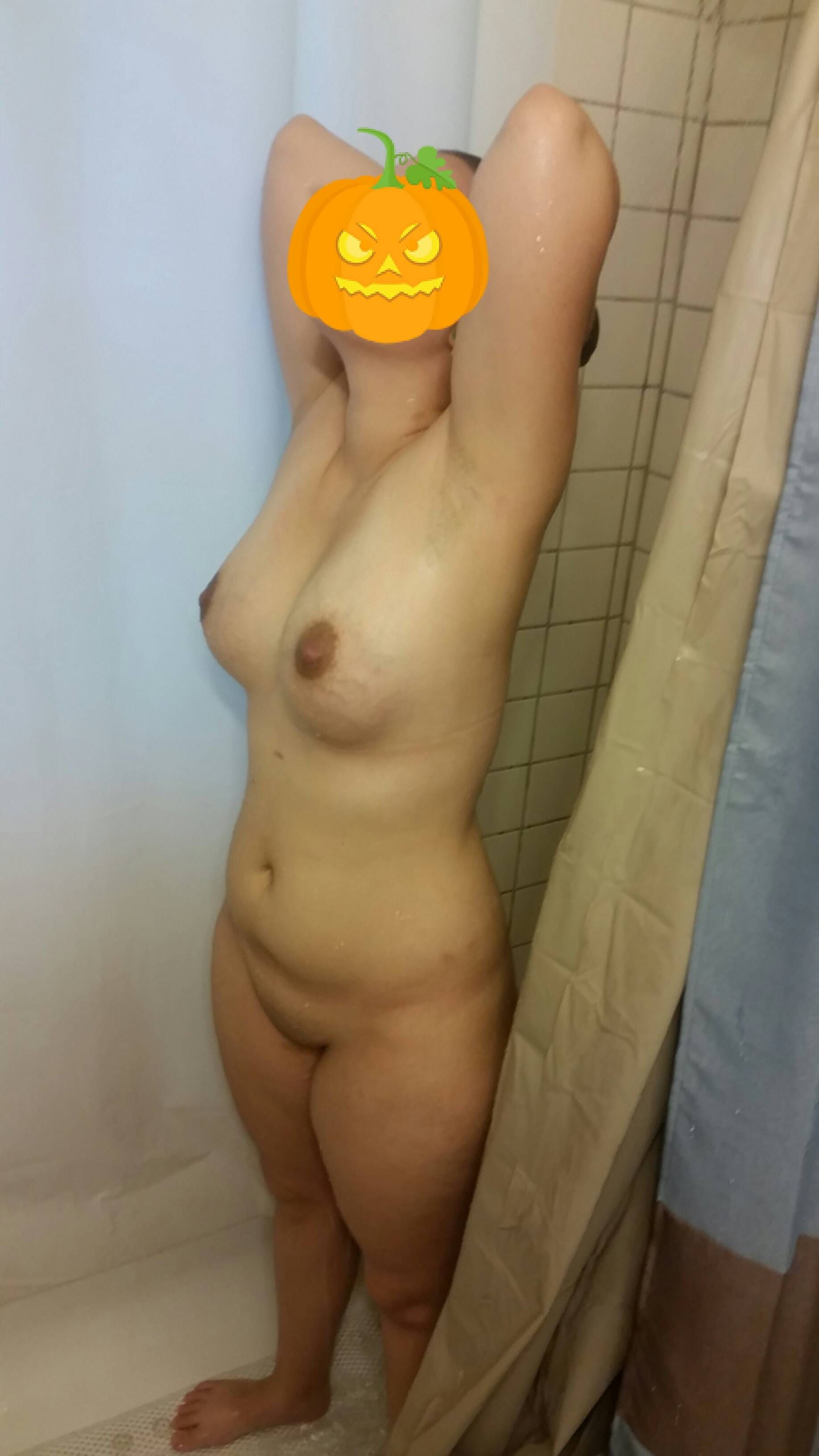 [Wife Porn Pics] Wife was feeling a bit dirty. Who wants to make her dirty again. She wants 150+ likes who can help.
