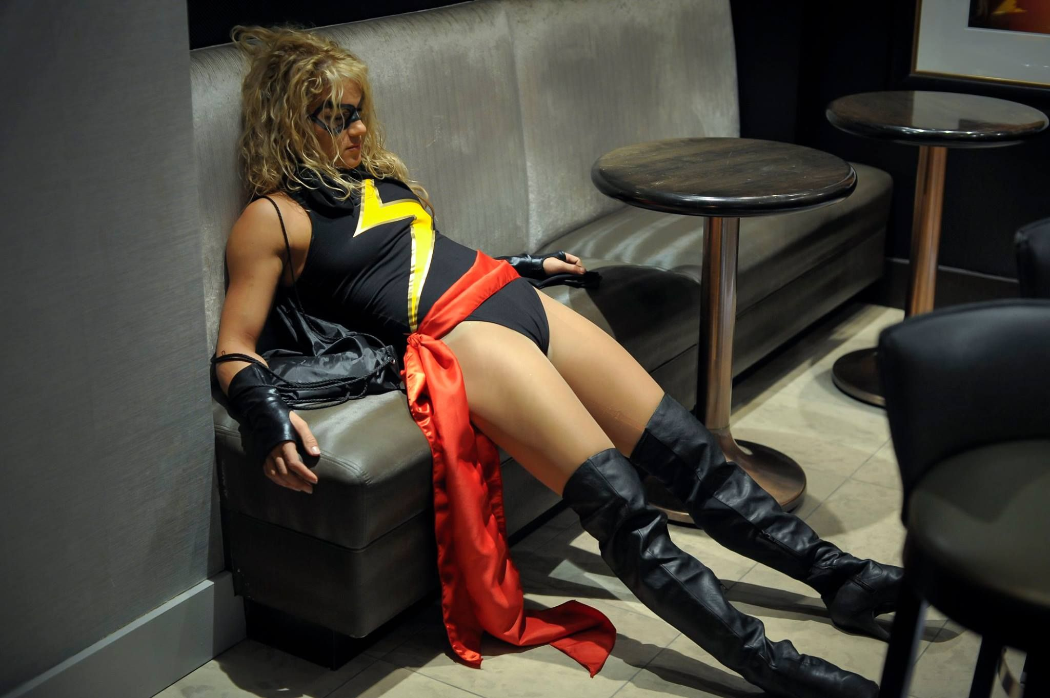 [Sexy Cosplay] Ms. Marvel (Felice Herrig)