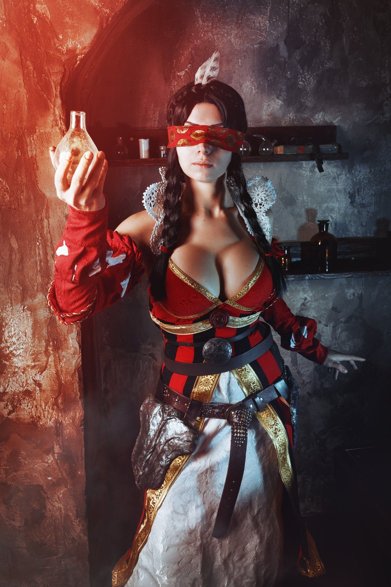[Sexy Cosplay] Witcher 3 – Philippa Eilhart by Elena Samko