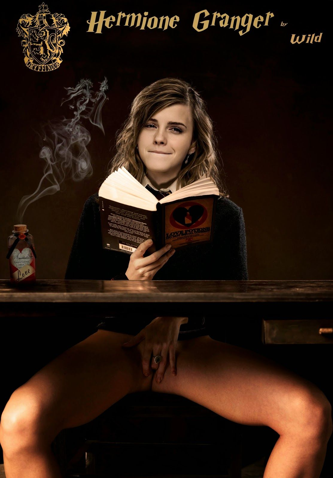 [Rule34] Hermione masturbating [Harry Potter]