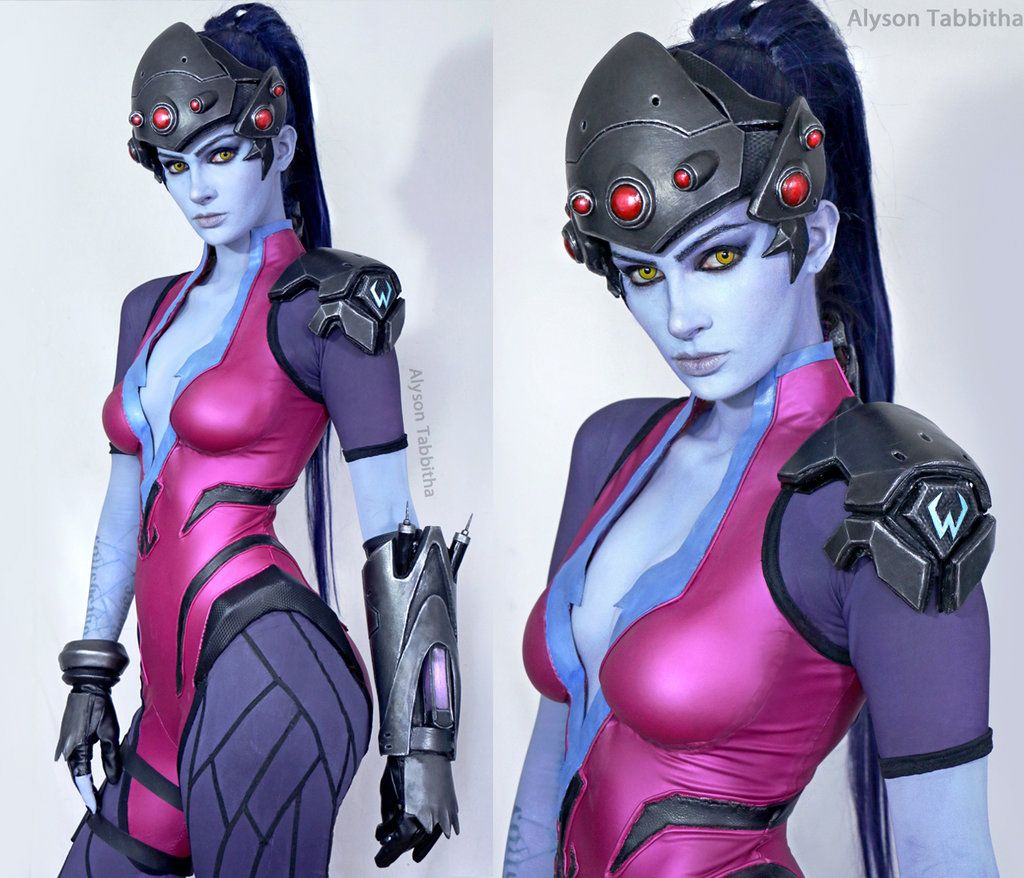 [Sexy Cosplay] Alyson Tabbitha as Widowmaker (HD Album)