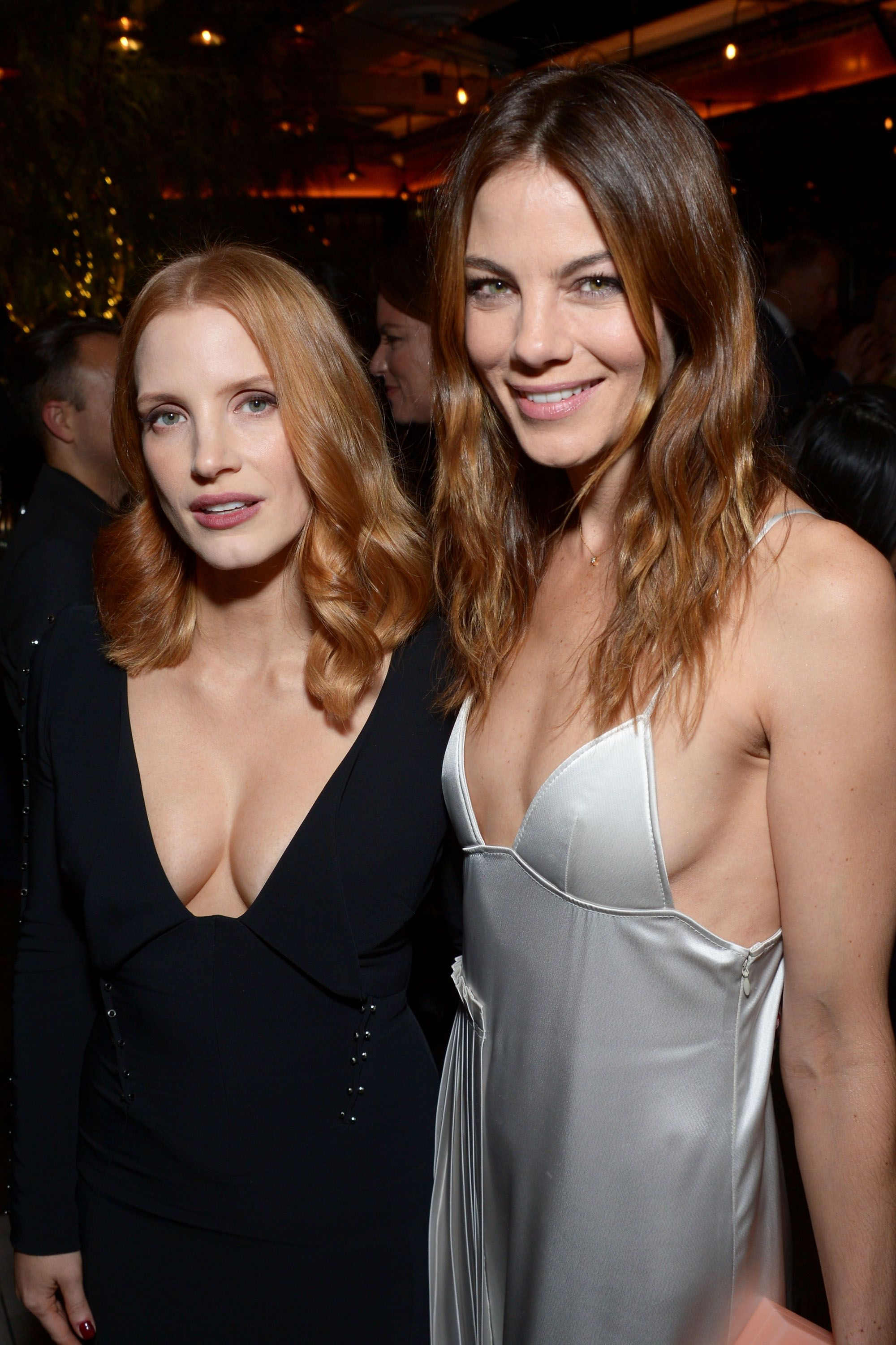 Jessica Chastain & Michelle Monaghan