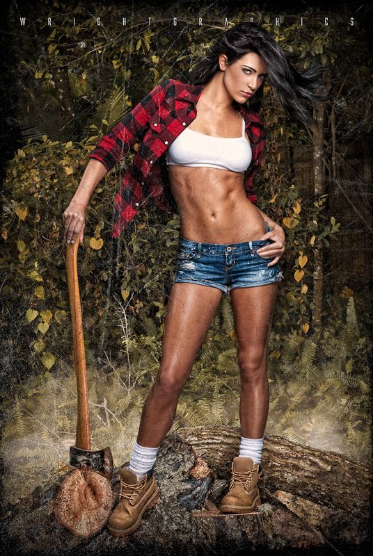 Lovely lumberjack