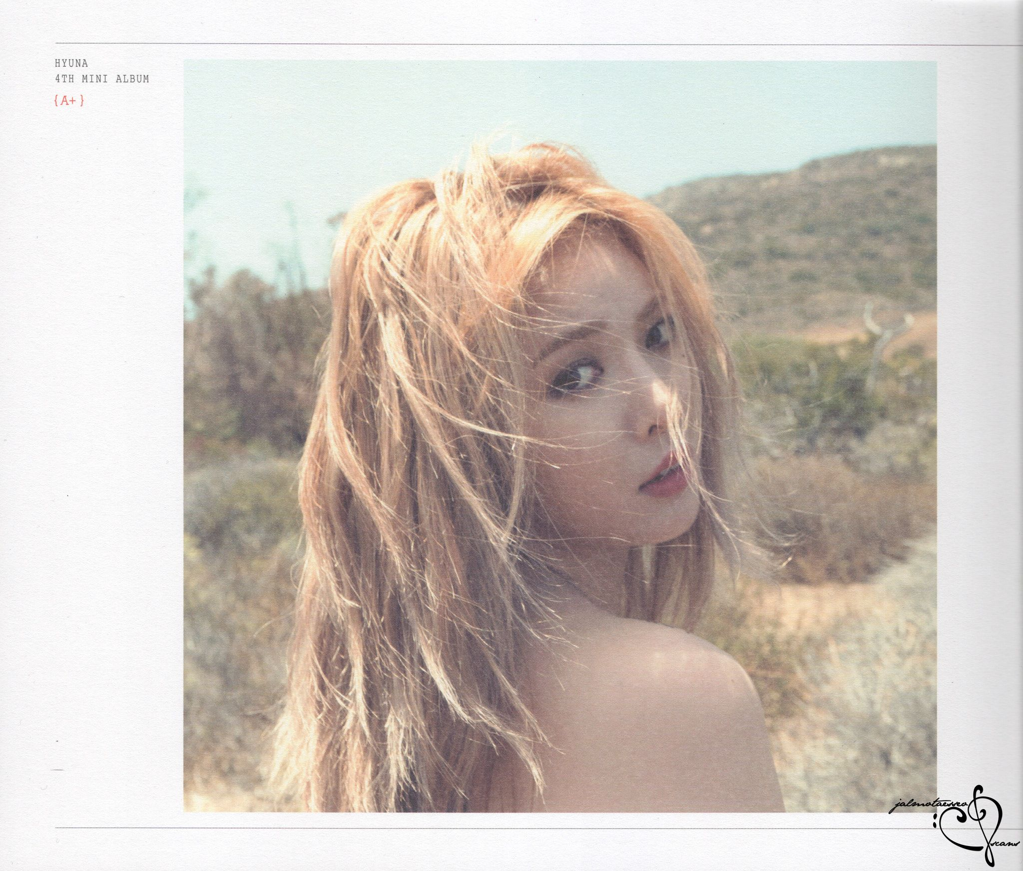 Hyuna A+ HQ Photobook Scans (18p)