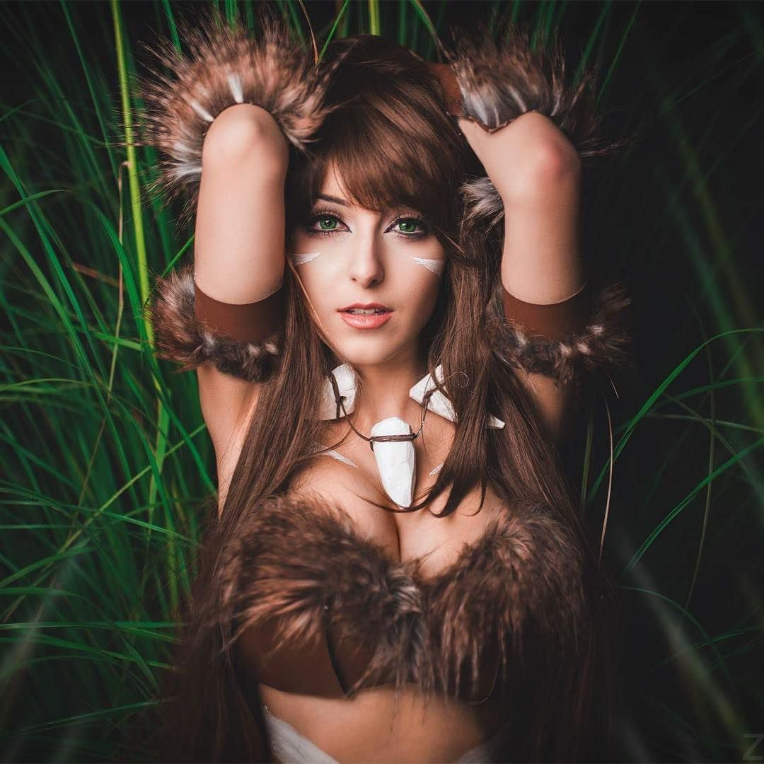 [Sexy Cosplay] Anissa Cosplay as Nidalee (League of Legends)