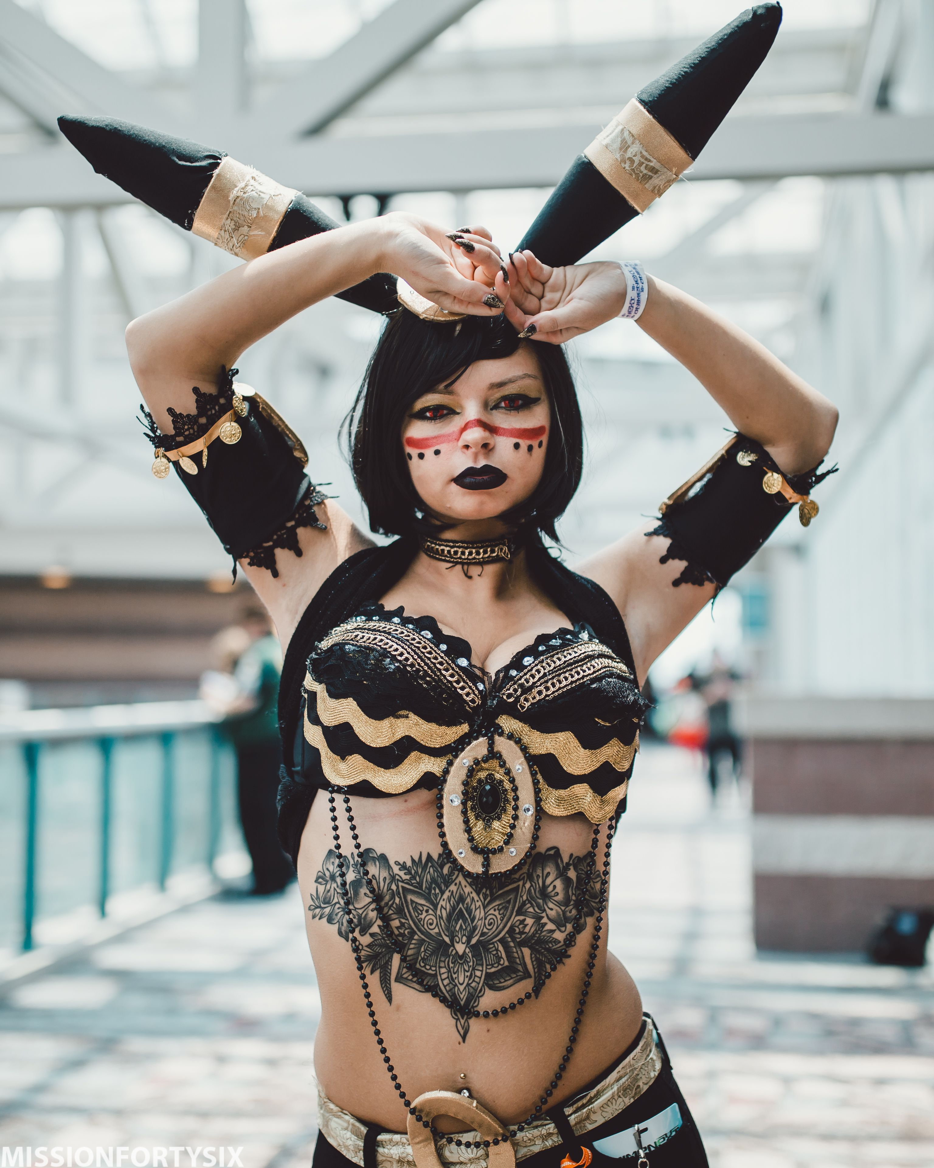 [Sexy Cosplay] Pokemon Umbreon Cosplay