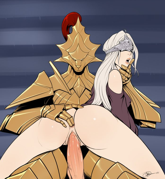 [Rule34] Ornstein and the Fire keeper (Izra) [Dark Souls]