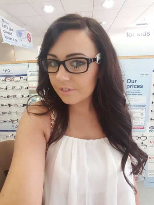 Trying On Glasses