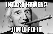 intact hymen jimll fix it  Jimmy Saville
