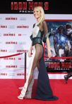 "de stripper veinteañera"" en premiere de Iron Man 3 