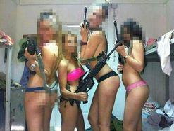 Autoridades militares declararon que la acci�n de las mujeres no se