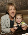 Anna Nicole Smith's daughter, Dannielynn, and the little girl's dad
