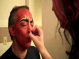Lady Gaga Male to Female Transexual Transformation with Makeup by Tia
