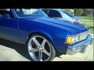 79 Box Caprice Aerocoupe On 26s For Sale