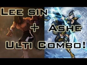 League of Legends - Lee Sin Ashe Ulti Combo ! - #51