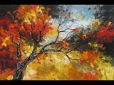 Amazing Landscapes  Autumn Paintings  ART by Lena Karpinsky